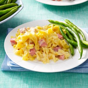 Creamy Ham & Cheese Casserole