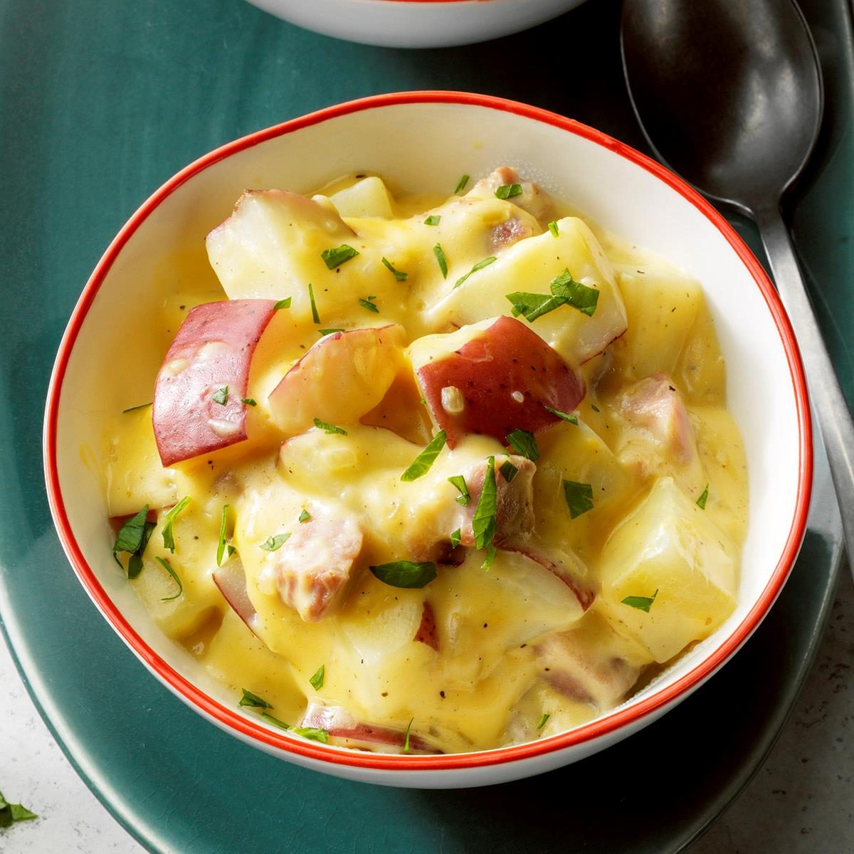 Creamy Ham & Potatoes