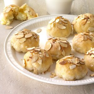 Creamy Lemon Almond Pastries