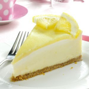 Creamy Lemon Cheesecake