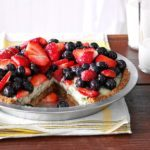 Creamy Lime Pie with Fresh Berries
