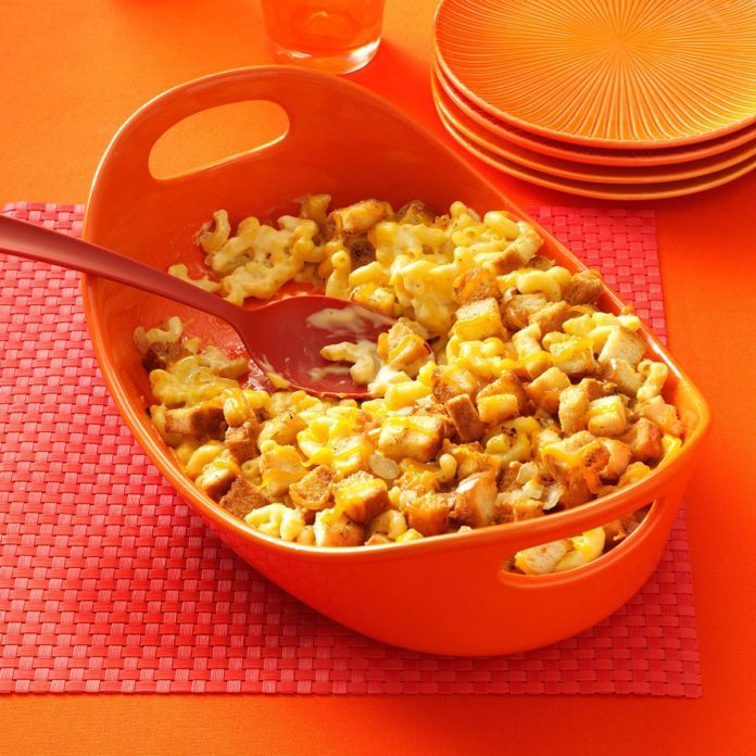 Creamy Makeover Macaroni and Cheese