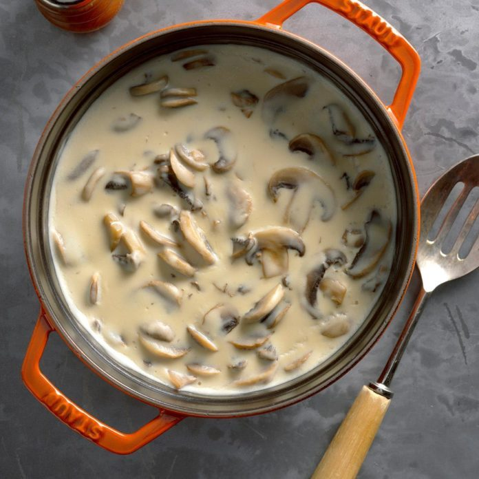Creamy Mushrooms