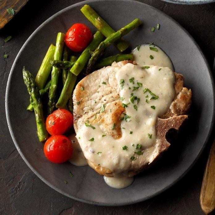 January 15: Creamy Onion Pork Chops