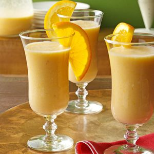 Creamy Orange Smoothies