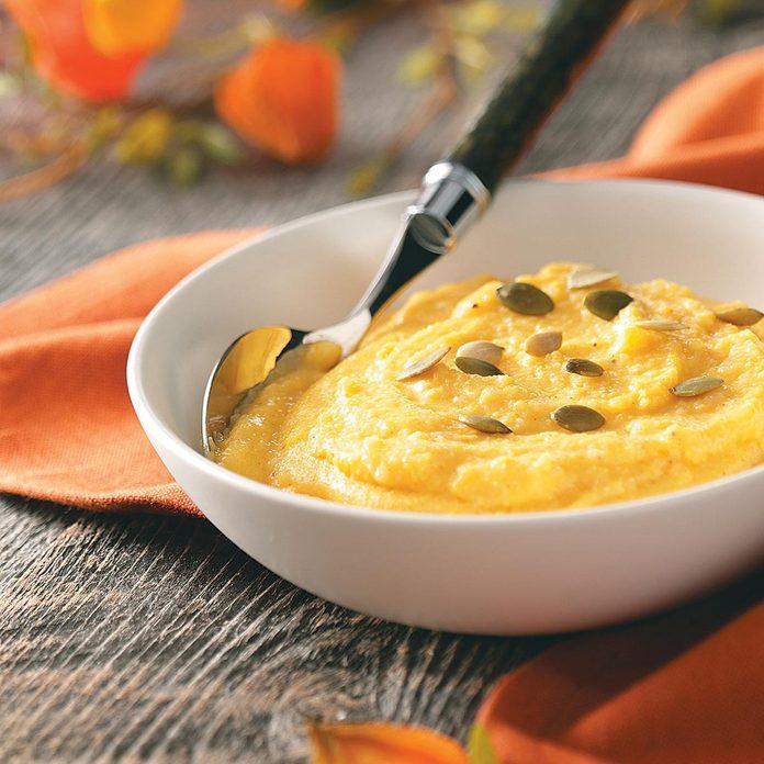 Creamy Pumpkin Polenta