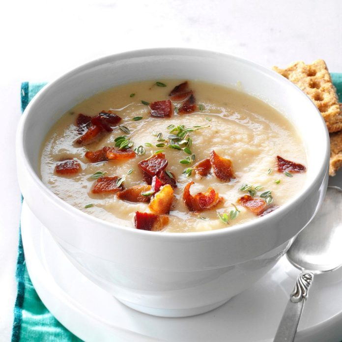 Day 9: Creamy Root Vegetable Soup