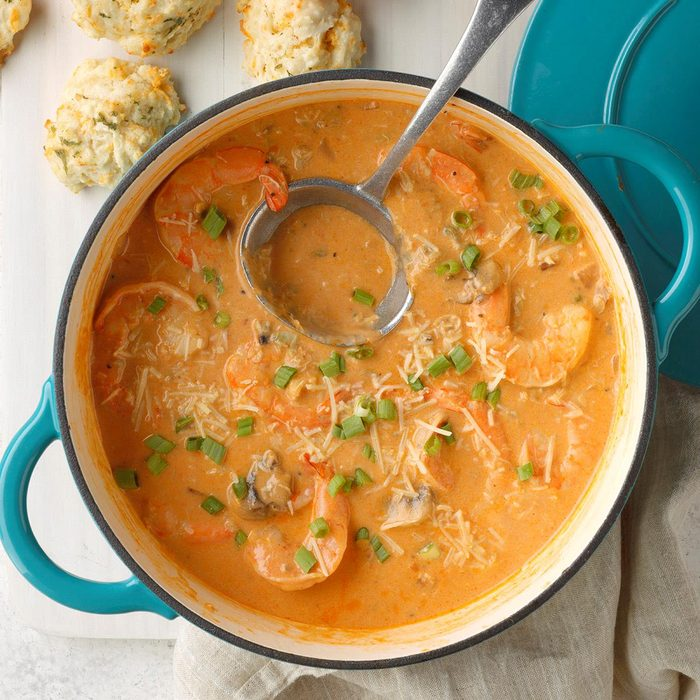 Creamy Seafood Bisque