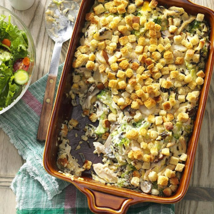 Arkansas: Creamy Turkey Casserole
