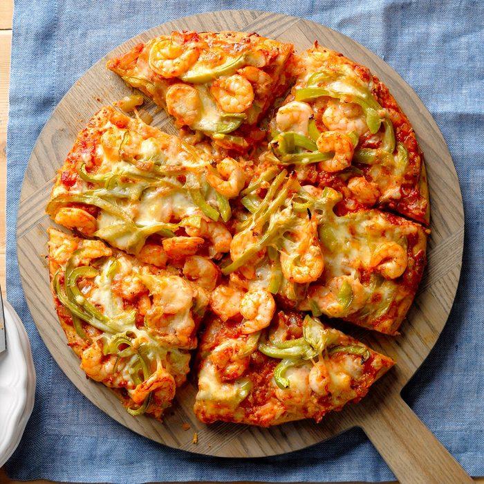 Creole Shrimp Pizza