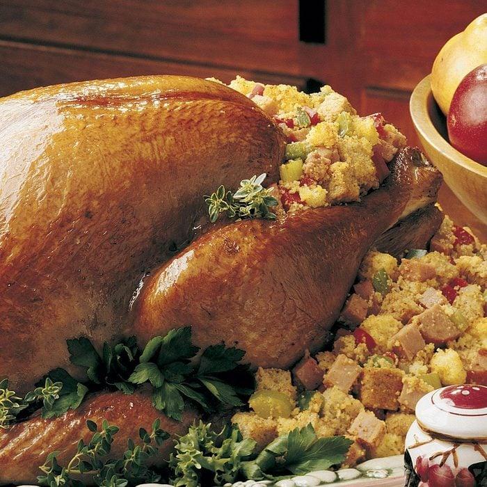 Creole-Stuffed Turkey