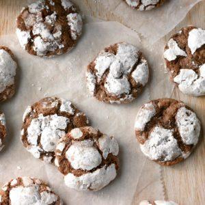 Crinkle-Top Chocolate Cookies