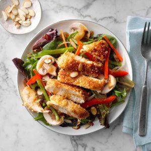 Crispy Asian Chicken Salad