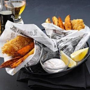 Crispy Beer-Battered Fish