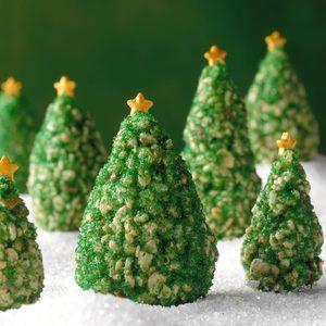 Crispy Christmas Trees