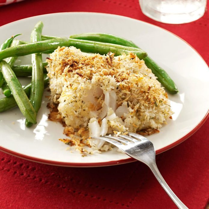 Crumb-Coated Cod Fillets