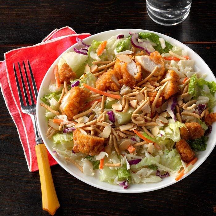 Crunchy Asian Chicken Salad