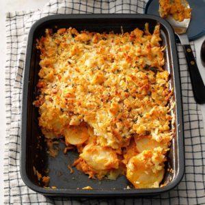 Crunchy au Gratin Potatoes