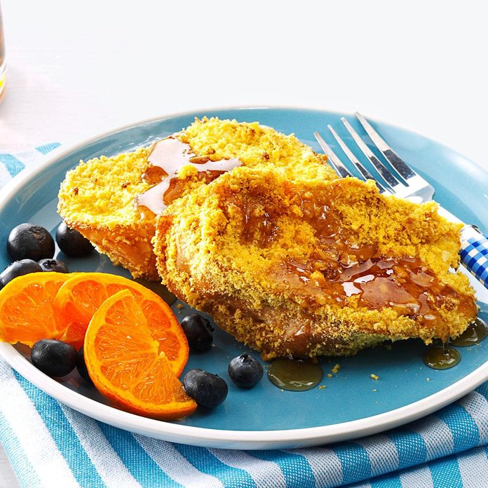 Crunchy Baked French Toast