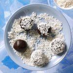 Crunchy Chocolate Mint Balls