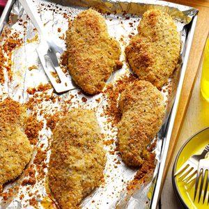 Crunchy Herbed Chicken Breasts