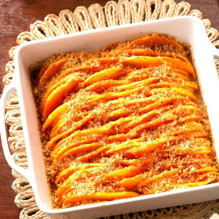 Crunchy Honey-Glazed Butternut Squash