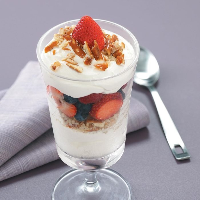 Crunchy Lime & Berry Parfaits