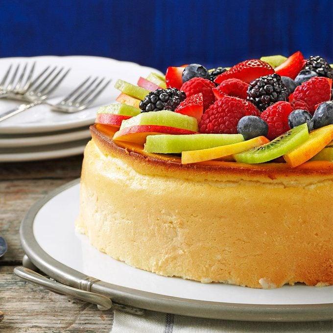 Crustless New York Cheesecake