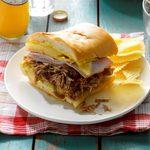 Cuban Pulled Pork Sandwiches