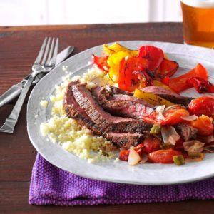 Cumin-Chili Spiced Flank Steak