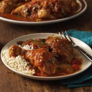 Curried Chicken Cacciatore