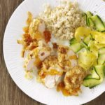 Curried Coconut Chicken for Two