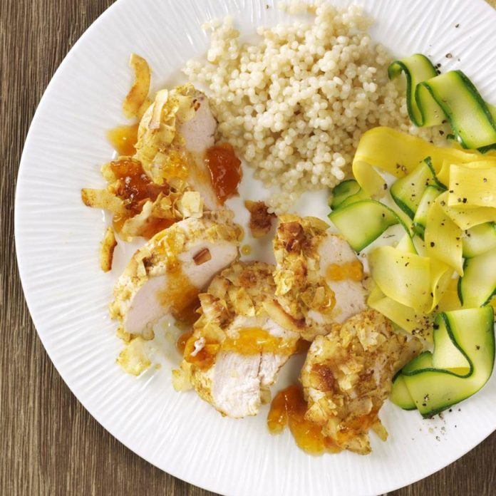Day 5 Dinner: Curried Coconut Chicken for Two