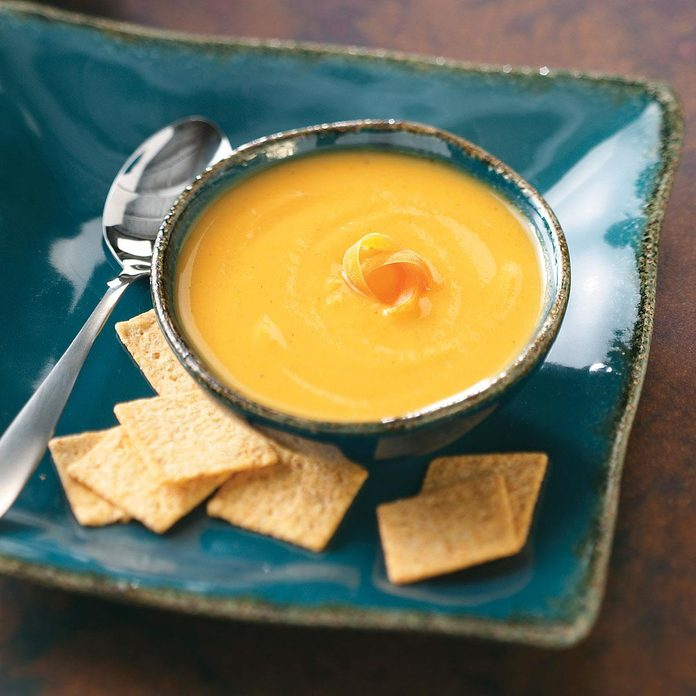 Parsnips: Curried Parsnip Soup
