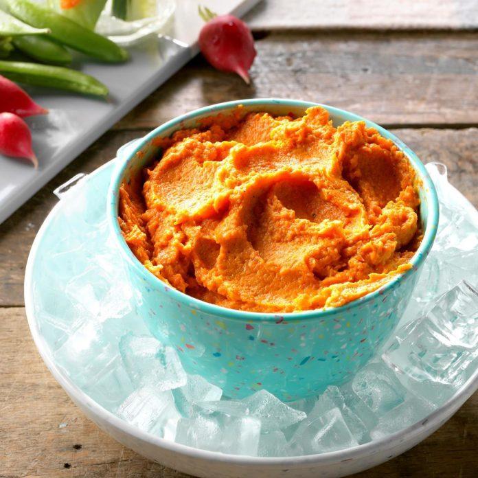Curry Carrot Dip