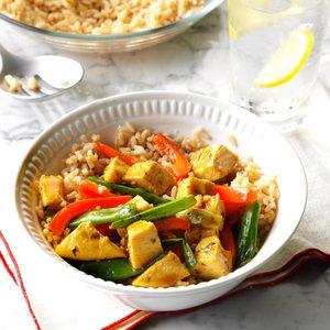 Curry Turkey Stir-Fry