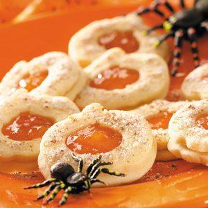 Cutout Pumpkin Sandwich Cookies