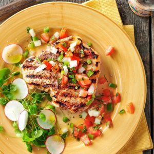 Dad's Best Pork Chops for Two