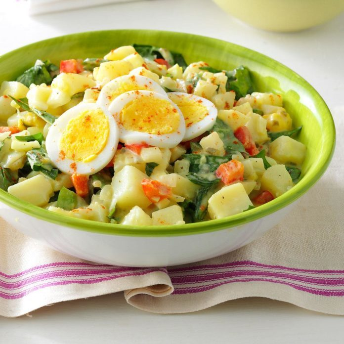 Dandelion Potato Salad