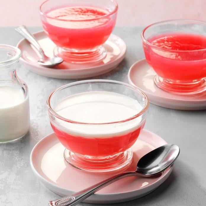 Danish Rhubarb Pudding