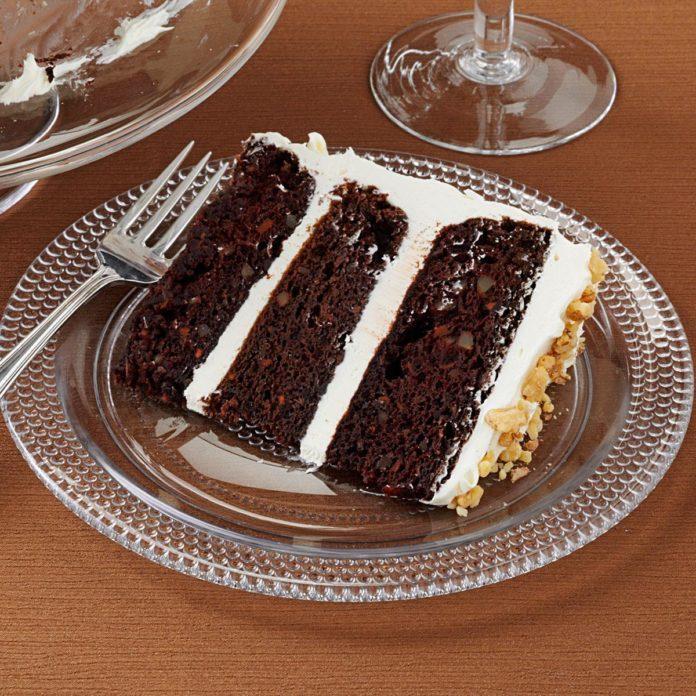 Dark Chocolate Carrot Cake