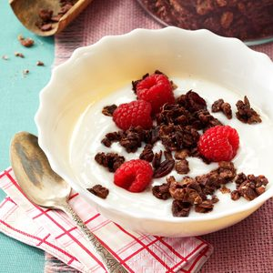 Decadent Dark Chocolate Granola