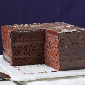 Deep & Dark Ganache Cake