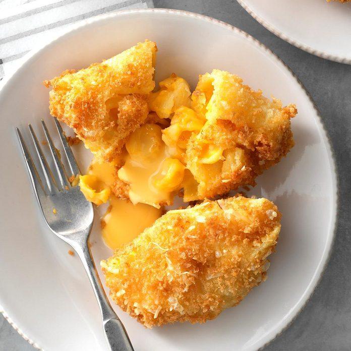 Inspired by: Crispy Mac 'n' Cheese