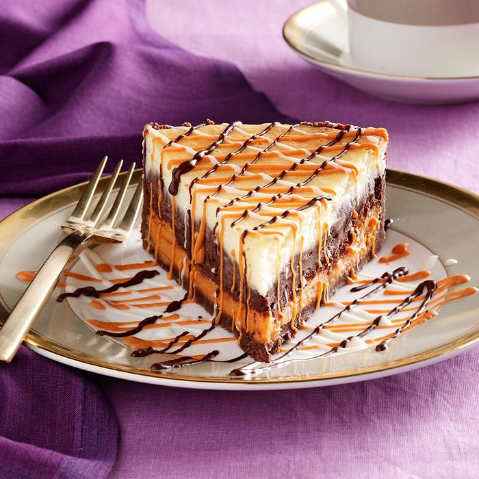 Deluxe Chip Cheesecake