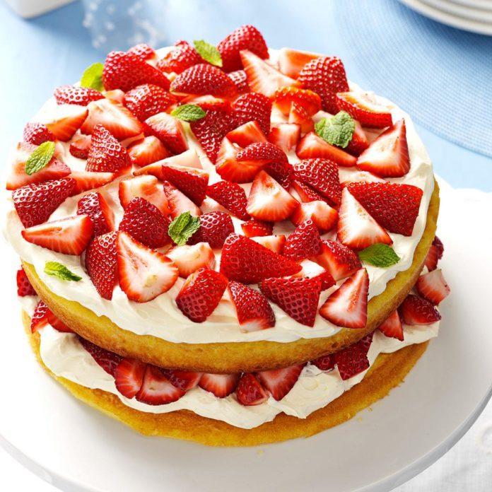 Deluxe Strawberry Shortcake