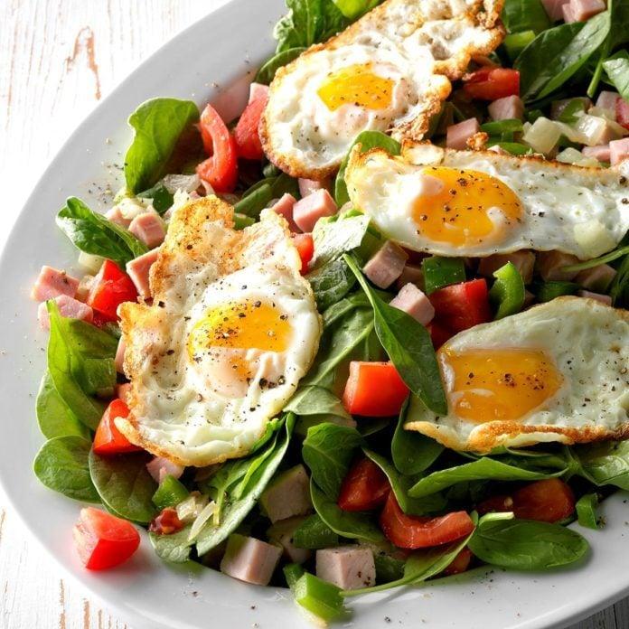 Day 6 Lunch: Denver Omelet Salad