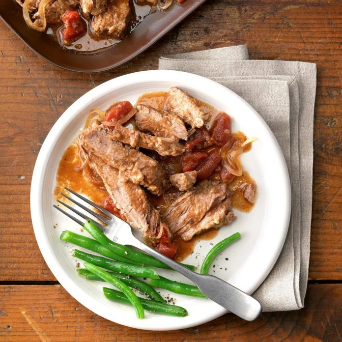 Deviled Swiss Steak