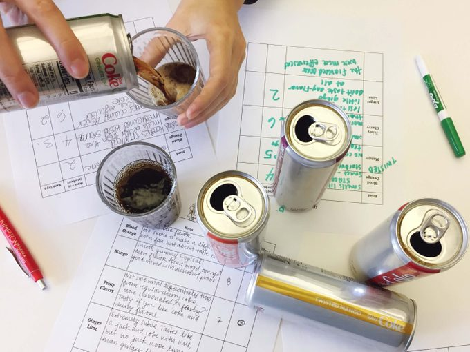 We tried the new Diet Coke flavors