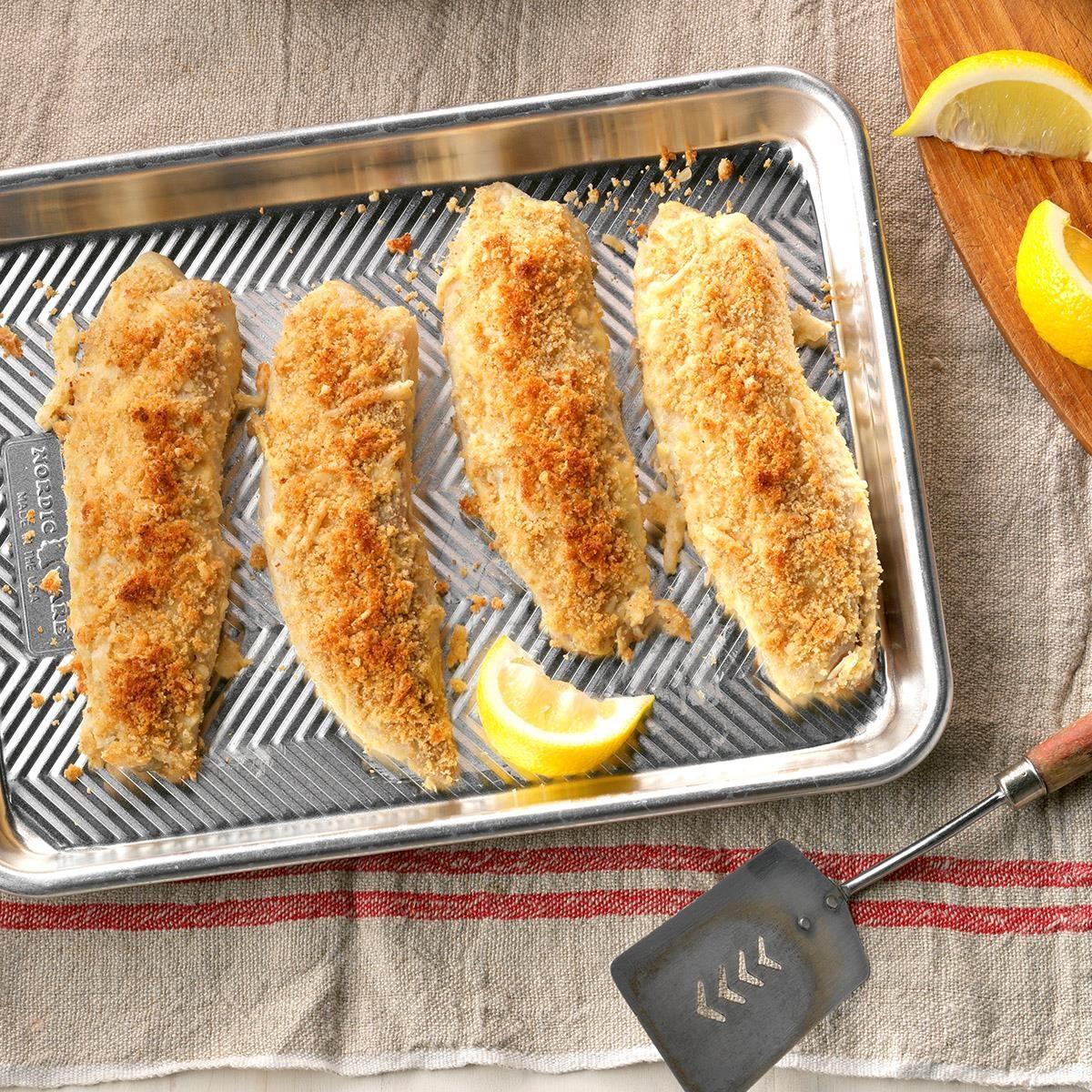 Day 8: Dijon-Crusted Fish